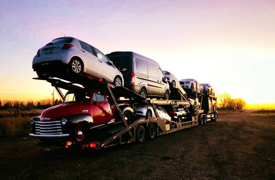 Princess Auto Transport Moving Vehicles Across Canada